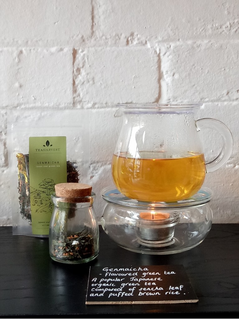 Genmaicha sample