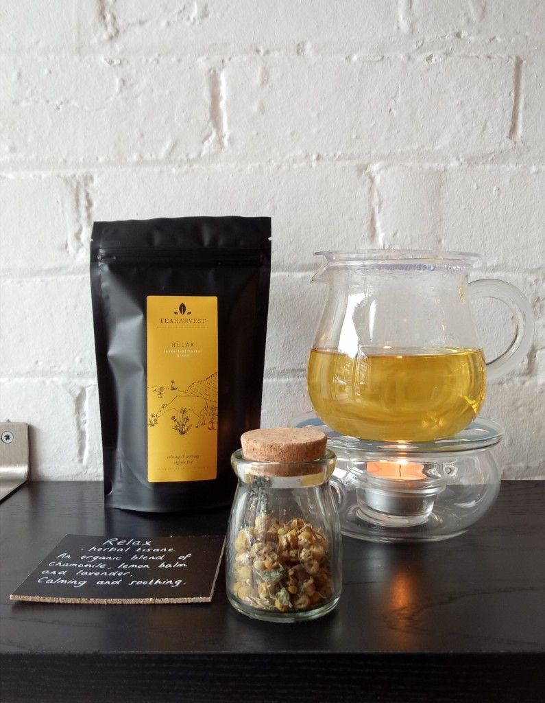 Relax tea sample